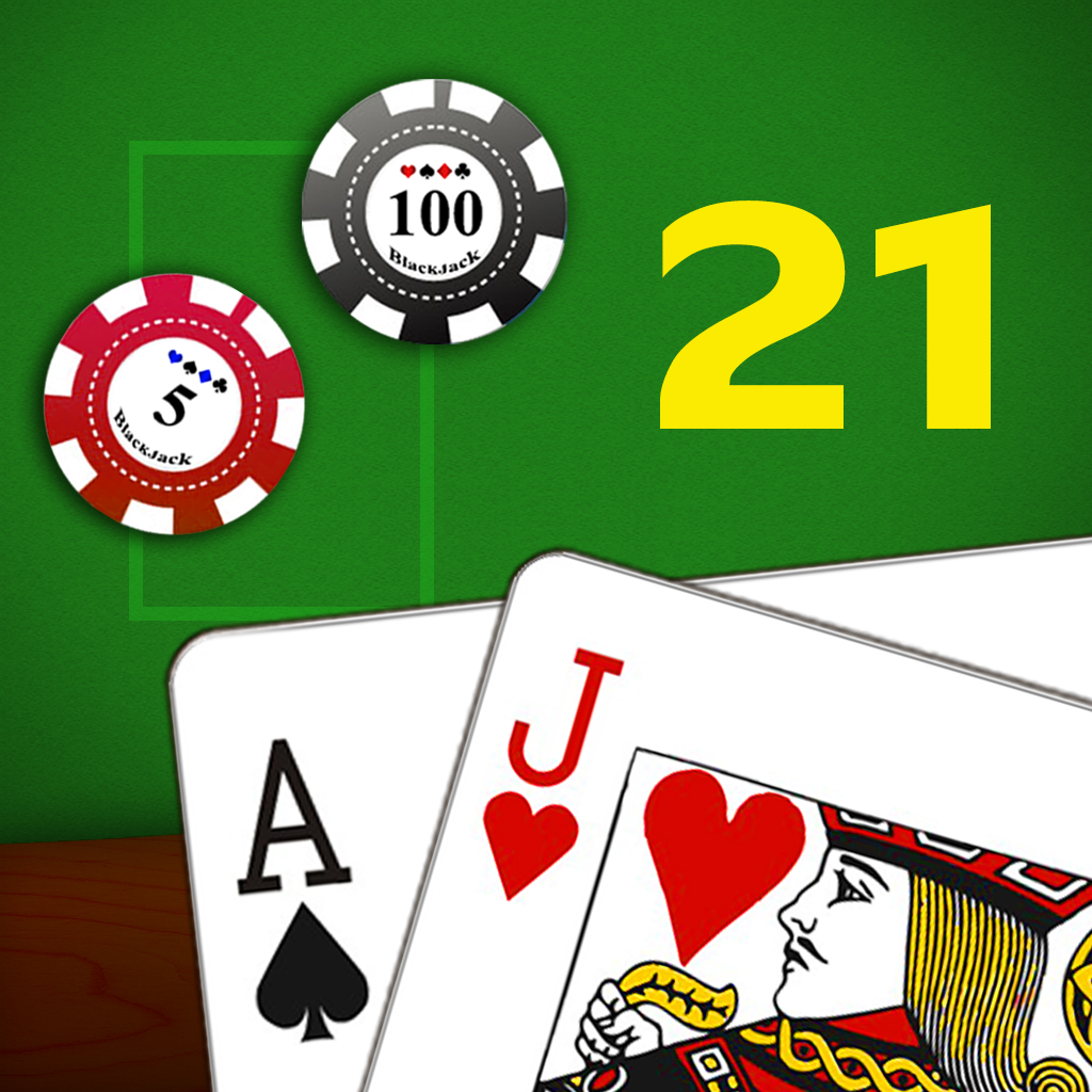 Blackjack HD Free - 21 Points Headsup Poker Game(Hold'em, Omaha)